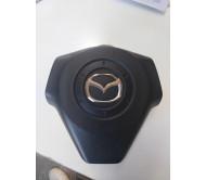 Накладка руля AirBag (крышка) Mazda 3 Мазда 2003-2008