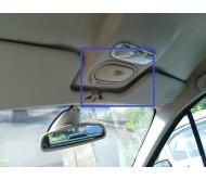 Козырек солнцезащитный левый Renault Scenic 2 Рено Сценик 2003-2009 8200246824