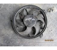 Вентилятор радиатора кондиционера (дополнительный) Fiat Scudo Citroen Jumpy Peugeot Expert 2007-2016 2.0HDI