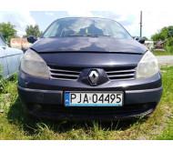 Бампер передний в сборе с решеткой Renault Scenic 2 Рено Сценик 2003-2009 620225303R 7701474769 8200139528 7701477306