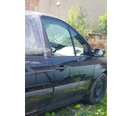 Дверь передняя правая (метал) Renault Scenic 2 Рено Сценик 2003-2009 7751477220