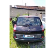 Дверь задняя ляда Renault Scenic 2 Рено Сценик 2003-2009 7751474296