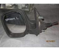 Зеркало наружное левое (механика) Citroen Berlingo Peugeot Partner Ситроен Берлинго Пежо Партнер 1996-2008 8153HV 8148PL